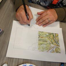 Sketch a map